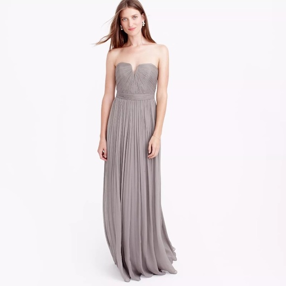 4c6f21813fd NWT J. Crew Nadia gown in Champagne